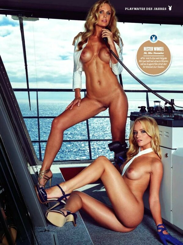 All Playmates of the Year in Love Boat Playboy Germany january 2016