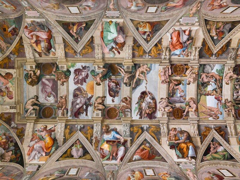 Прекрасные росписи Сикстинской капеллы 0 13c0ef 767227b5 XL