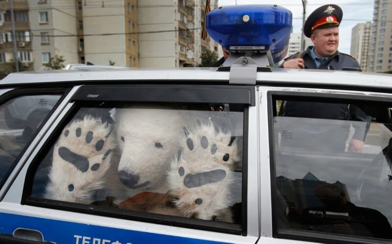 APTOPIX Russia Arctic Greenpeace