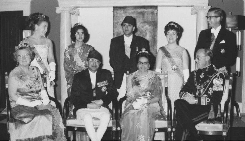 25 april 1967. Государственный визит короля и королевы Непала в Нидерланды