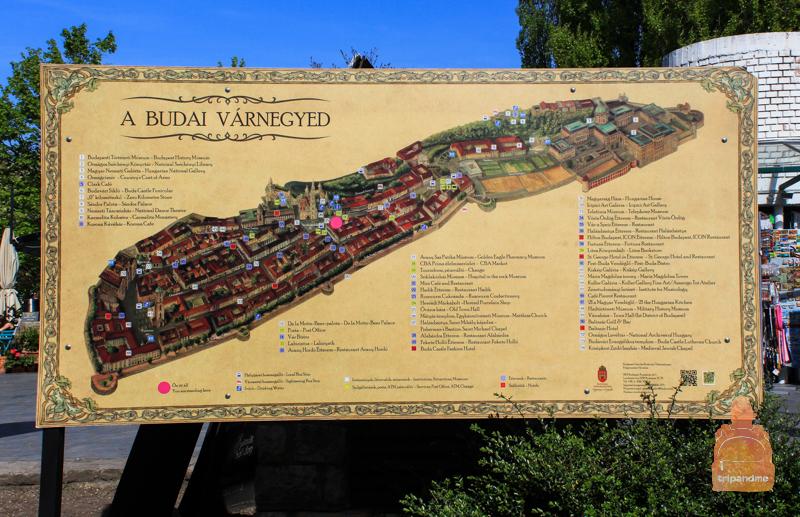 Карта Будайского холма