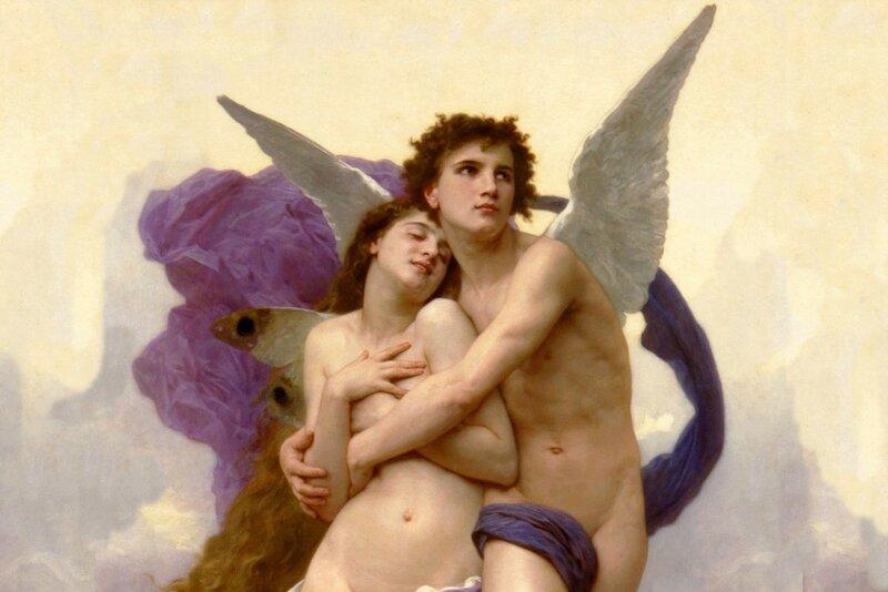 История Любви. Легенда о Психее и Эроте