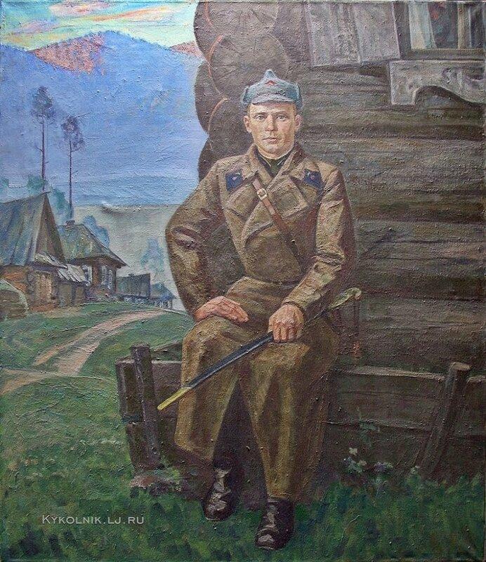 Шатов Ефим Игнатьевич (1935-2000) «Мой отец» 1978.