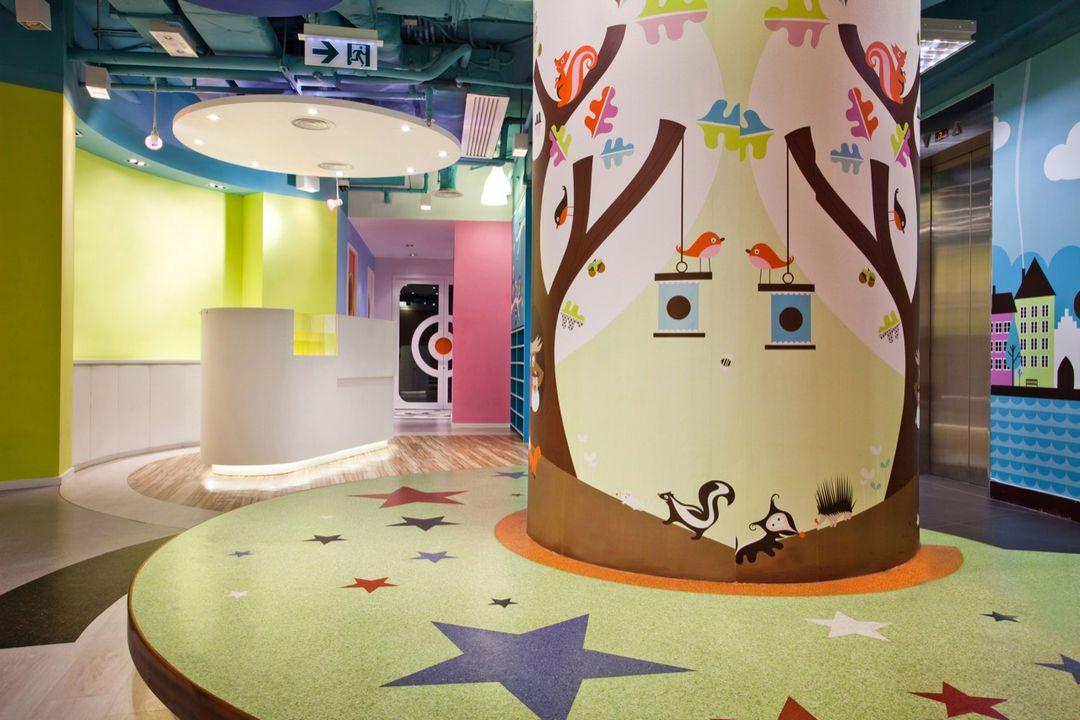 Необычный детский учебный центр