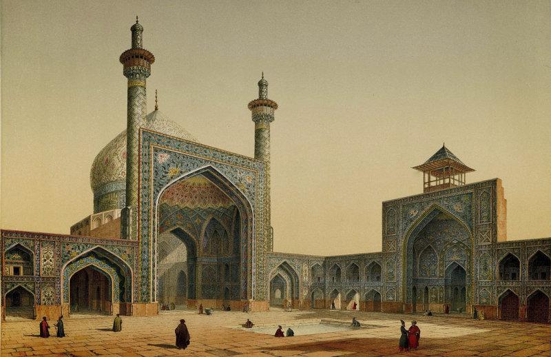 В 1840 году каджарскую Персию посетили два выдающихся француза - археолог, востоковед и художник Эже