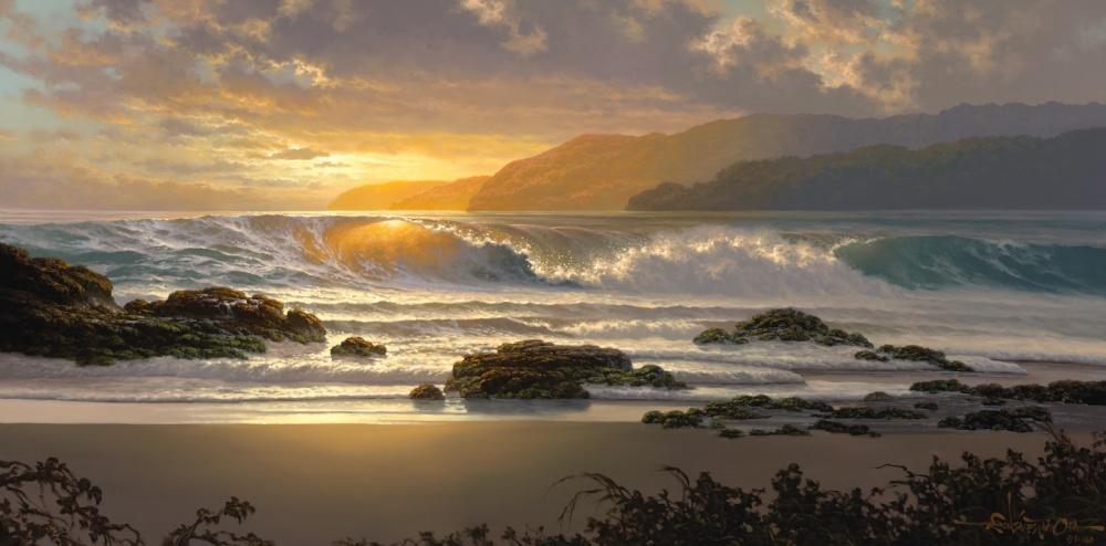 «Золотая волна», художник Рой Табора (Roy Tabora).