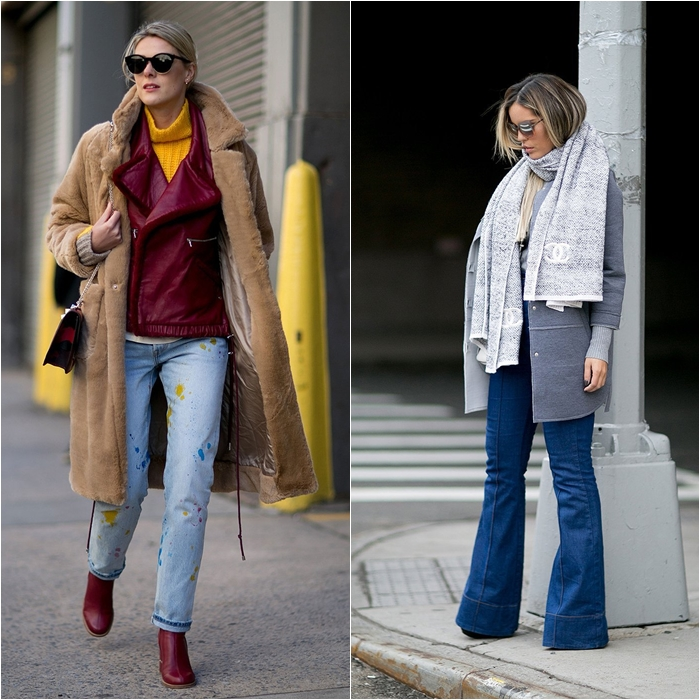 How to Wear Jeans with a Coat: Street Style picture 11