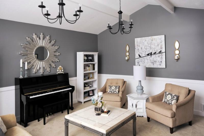Пианино и рояль в дизайне интерьера фото 2