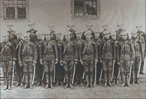 Кавалеры Георгиевского кресат второго эскадрона, София, 1878