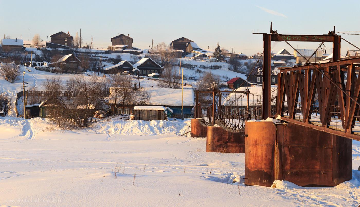 Фото 21. Пример деревенского пейзажа, снятого на любительскую зеркалку Canon EOS 600D KIT 18-135. 1/320, +0.67, 9.0, 400, 57.