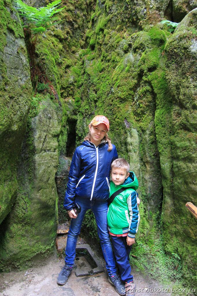Чехия, Адршпашско-теплицкие скалы