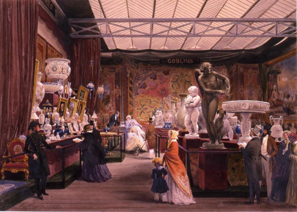 Великая выставка: Франция. 1851