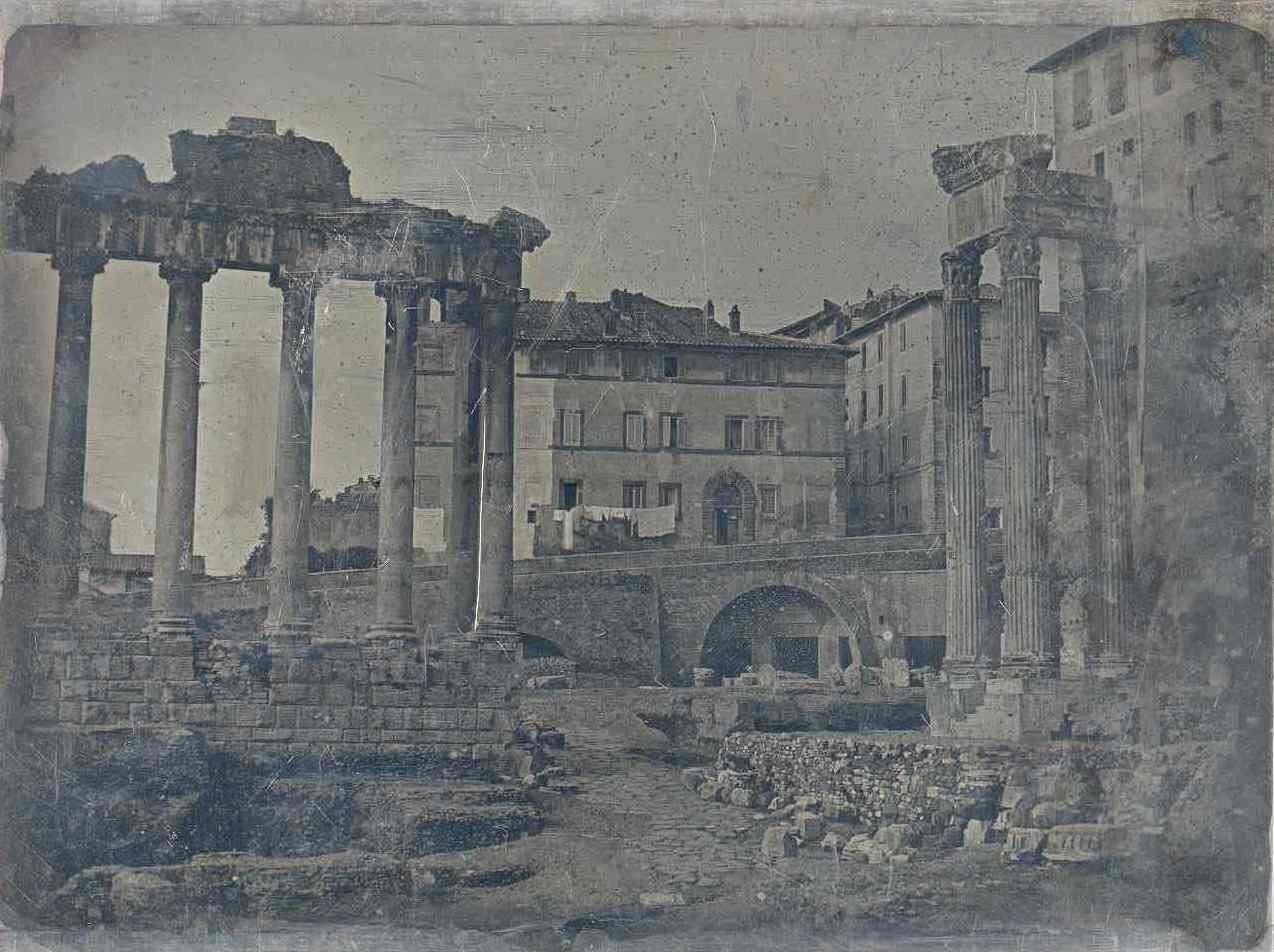 Римский Форум с храмом Сатурна