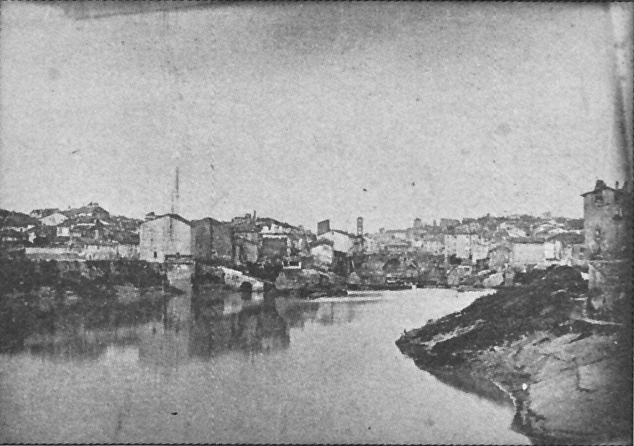 1844. Мост Честио через Тибр
