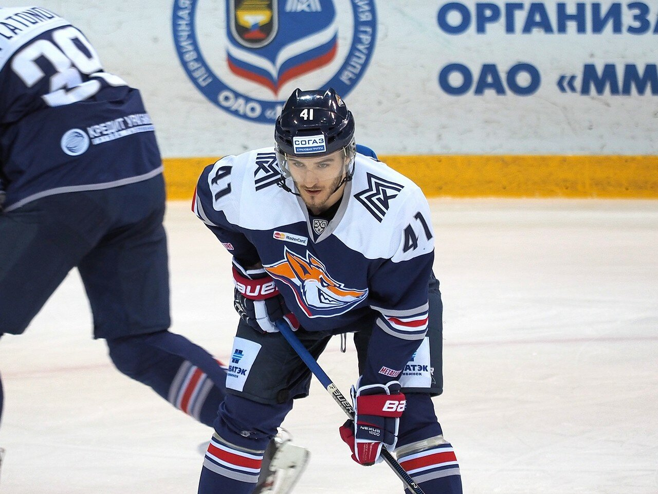 46Восток 1/2 плей-офф Металлург - Сибирь 08.03.2016