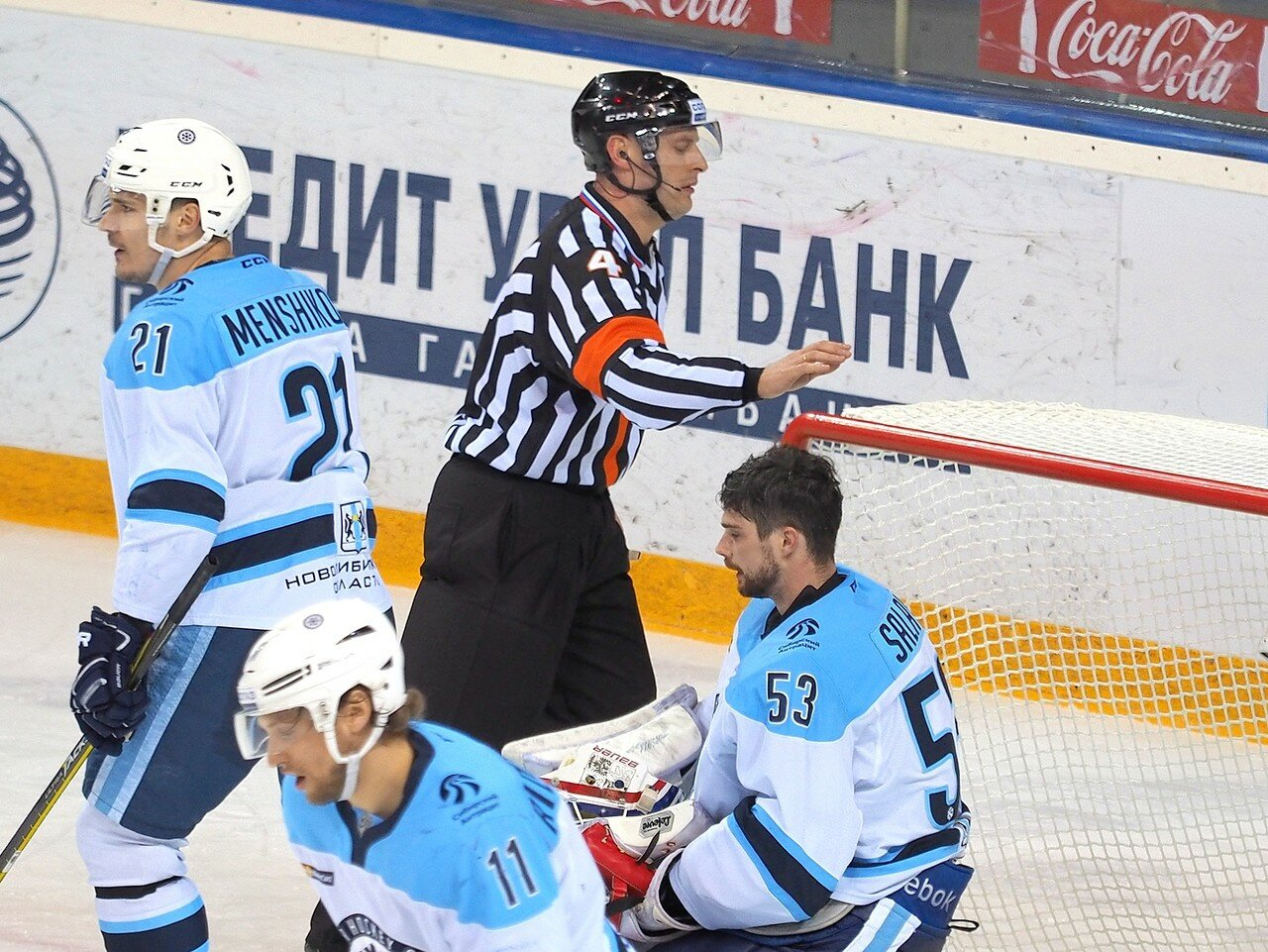 101Восток 1/2 плей-офф Металлург - Сибирь 08.03.2016
