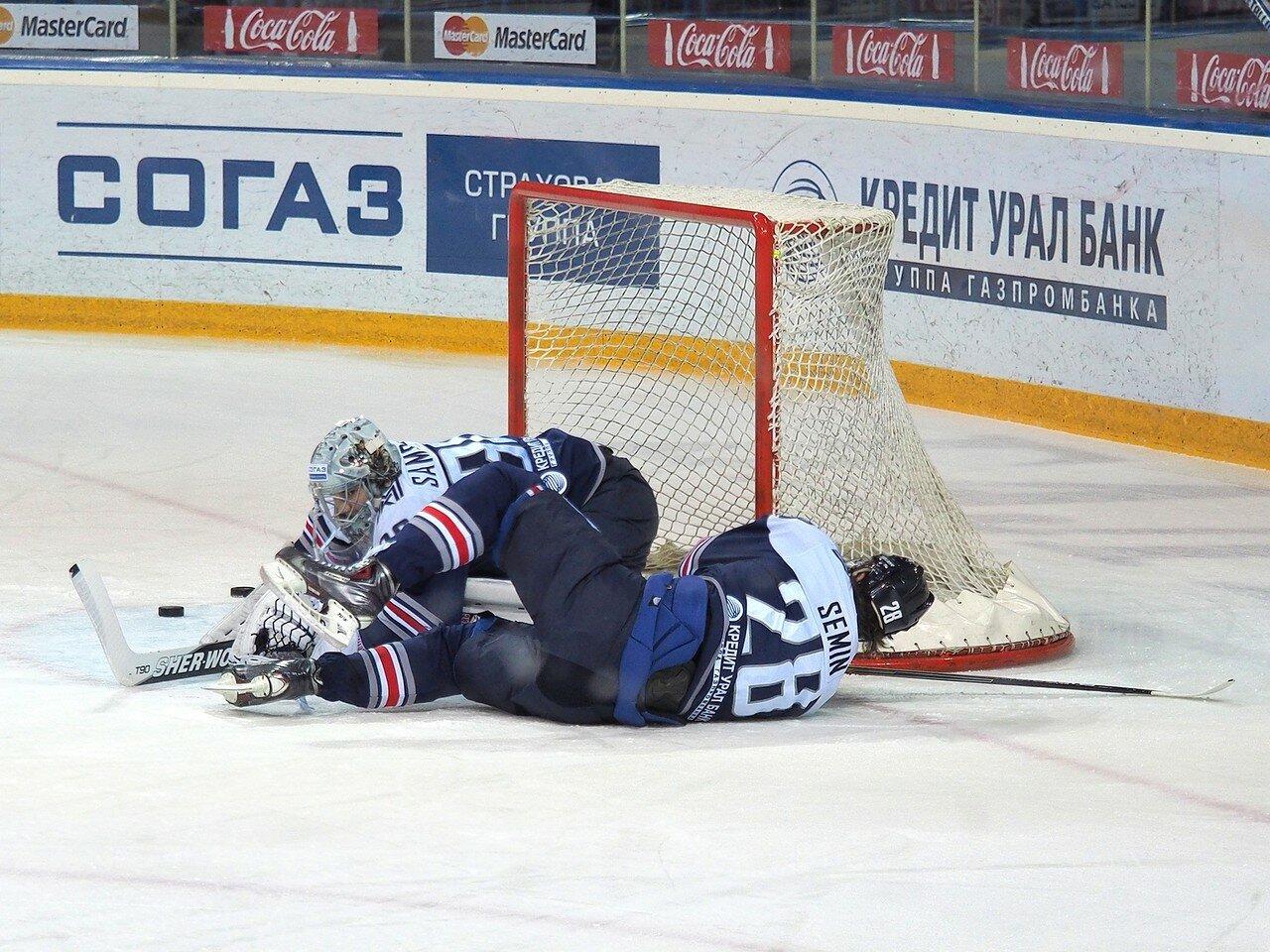 44Плей-офф 2016 Восток 1/2 Металлург - Сибирь 10.03.2016