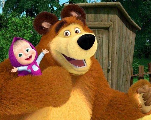 Американская молодёжь оценила мультфильм «Маша и Медведь»