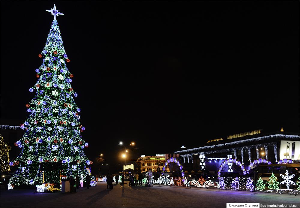 Днепропетровск Новый год