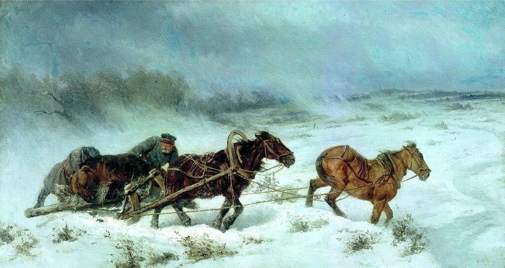 Охота на медведя. 1885.jpg