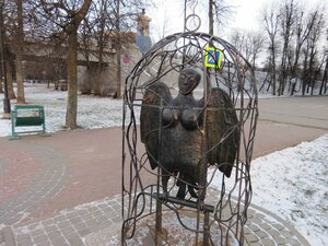 Сирин в клетке - Новый год в Великом Новгороде