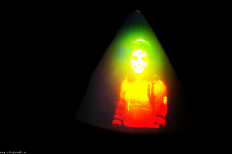 Особняк Салтыковых-Чертковых в Москве. Выставка Magic of Light