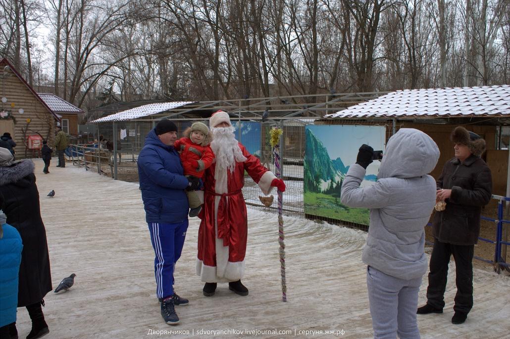 Резиденция Деда Мороза в Волжском - Парк Вгс