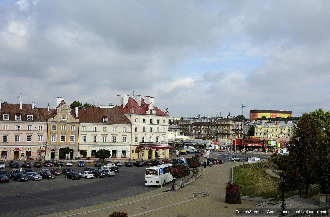 Летний Люблин. Польша