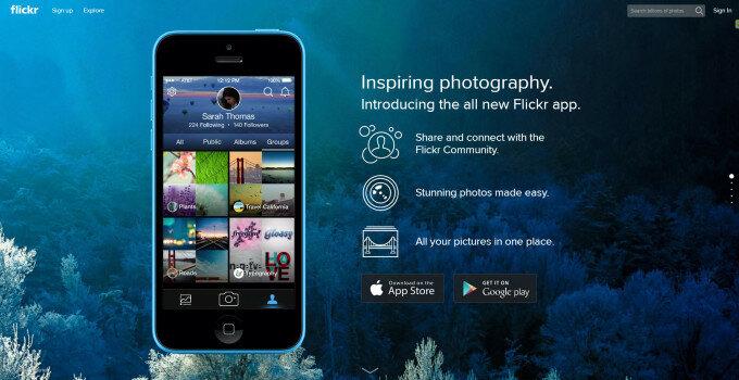 Flickr видаляє авторизацію через Facebook і Google