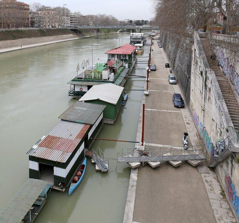 Рим. Мост королевы Маргериты (Ponte Regina Margherita)