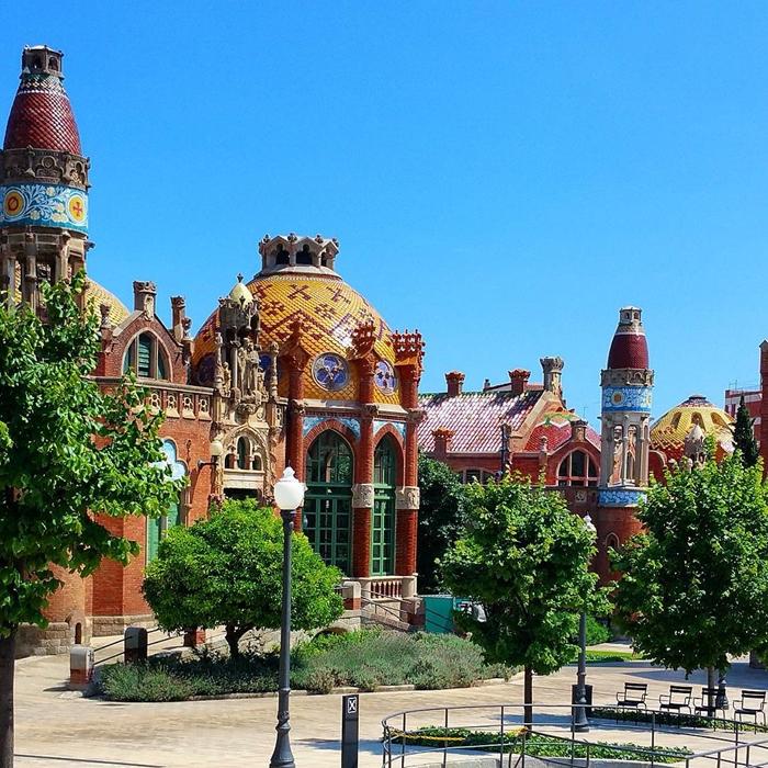 Красивая архитектура Барселоны Instagram фото 16