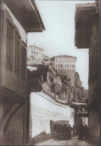 Вид на одну из улиц Филиппополя (Пловдива), январь 1878