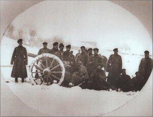 Лейб-гвардейцы Второй конной батареи, Новочин, 3 декабря 1877