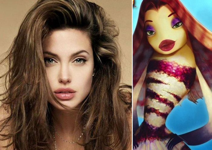 Актеры, которые похожи на своих героев из мультфильмов