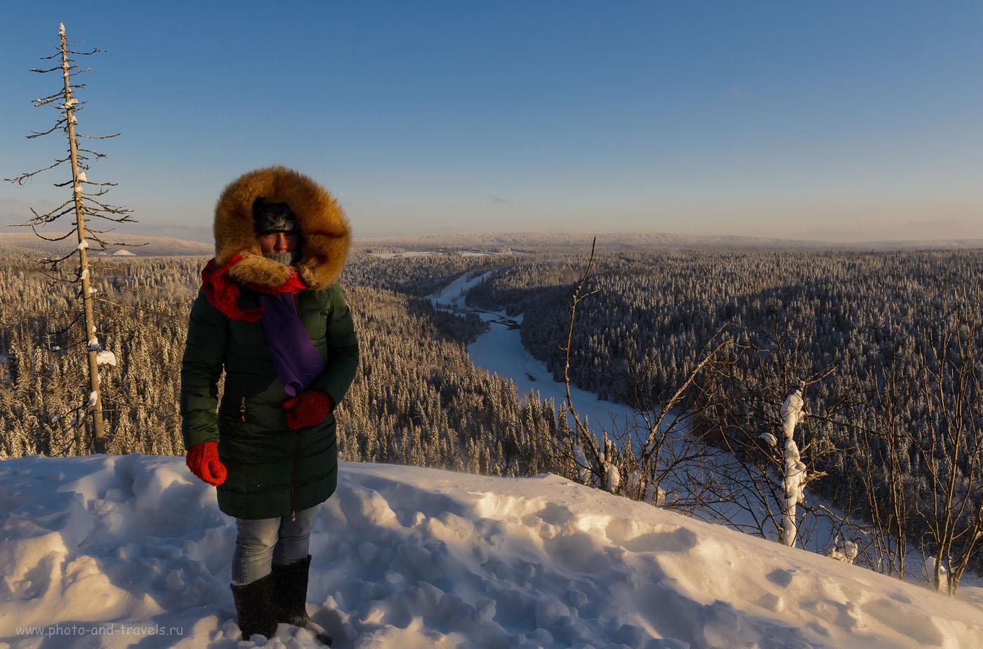Фотография 15. Мороз и солнце; день чудесный! Пушкин мог написать эти чудесные строки и в Пермском крае. Виды с вершины скал Усьвинские столбы. 1/1000, 0.33, 8.0, 1600, 24.
