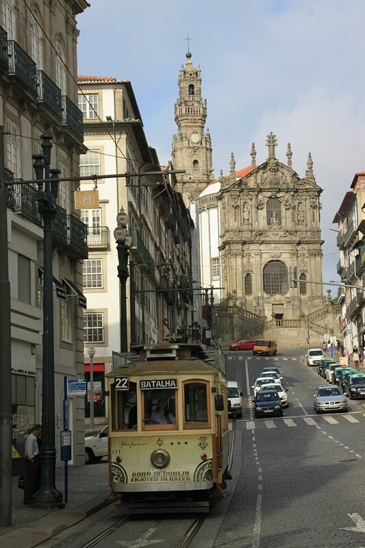 Трамвай в Порту (Tram in Porto)