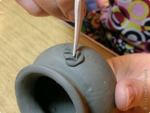 Мастер-класс Лепка: Глиняное литье. Глина. Фото 17