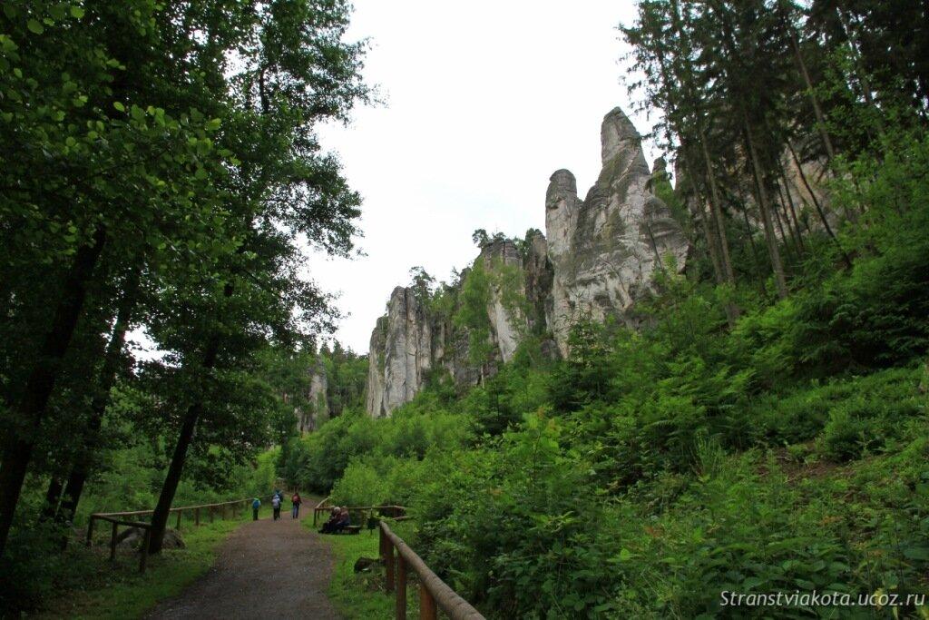 Чехия, Чешский Рай, Праховские скалы
