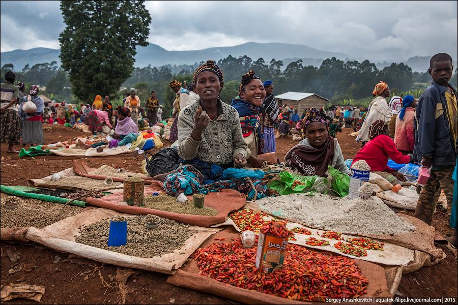 Chencha market  / Рынок Ченчя