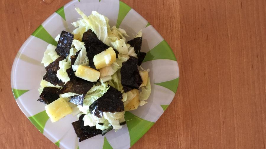 Салат с нори