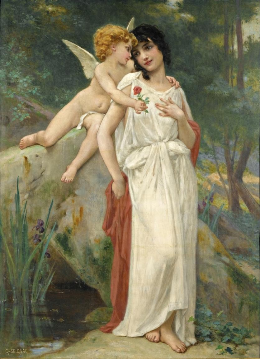 Guillaume Seignac (France, 1870-1924) - французский живописец академического направления. (+18)