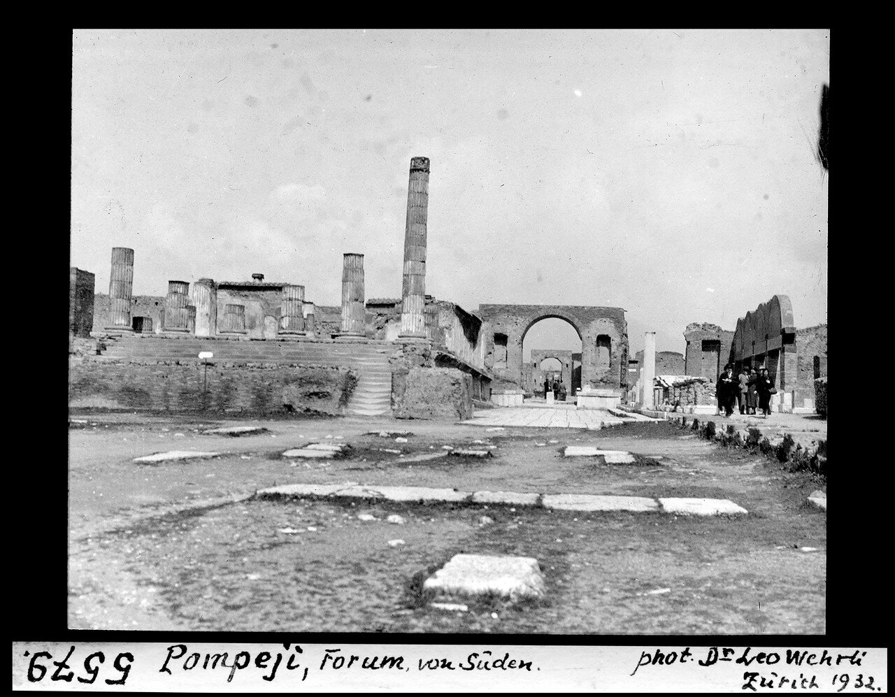 1932. Форум, вид с юга
