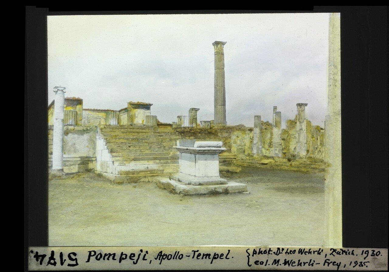 1930. Храм Аполлона