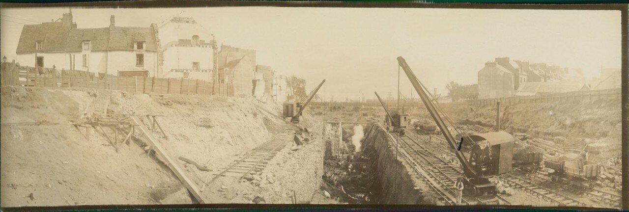 Сен-Назер. Работа по строительству нового порта