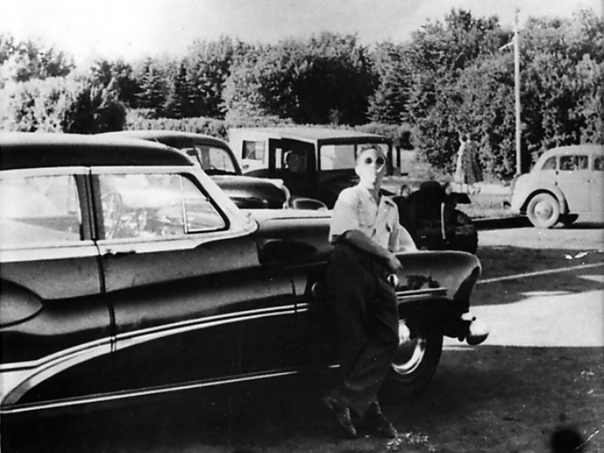 1953. Владимир Высоцкий в г.Химки, Московской области. Фото 8 июня