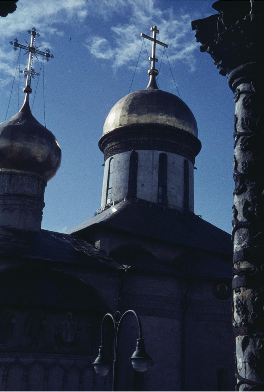 Золотые купола в Загорске