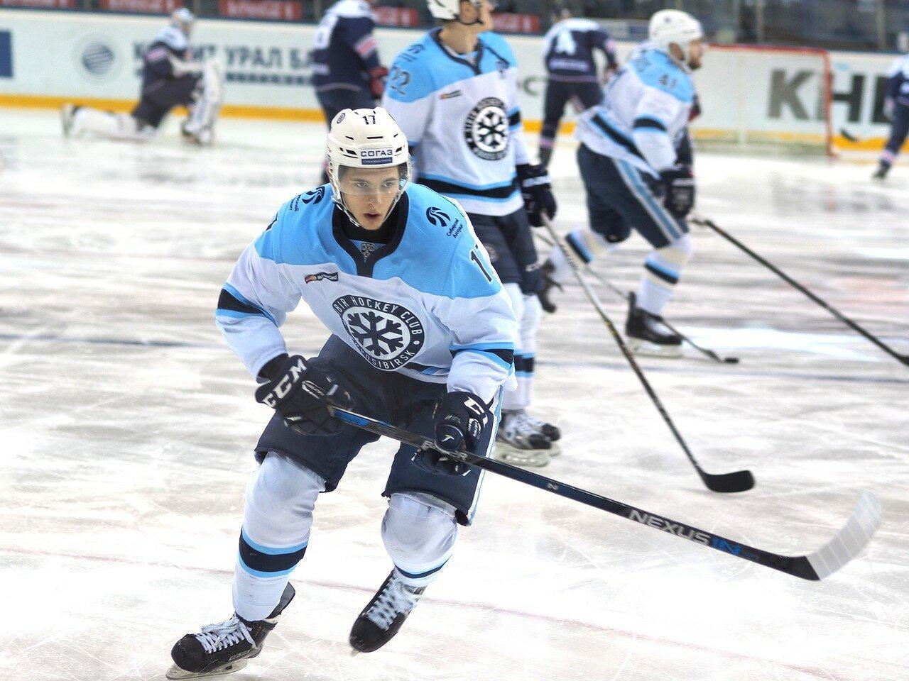 7Восток 1/2 плей-офф Металлург - Сибирь 08.03.2016