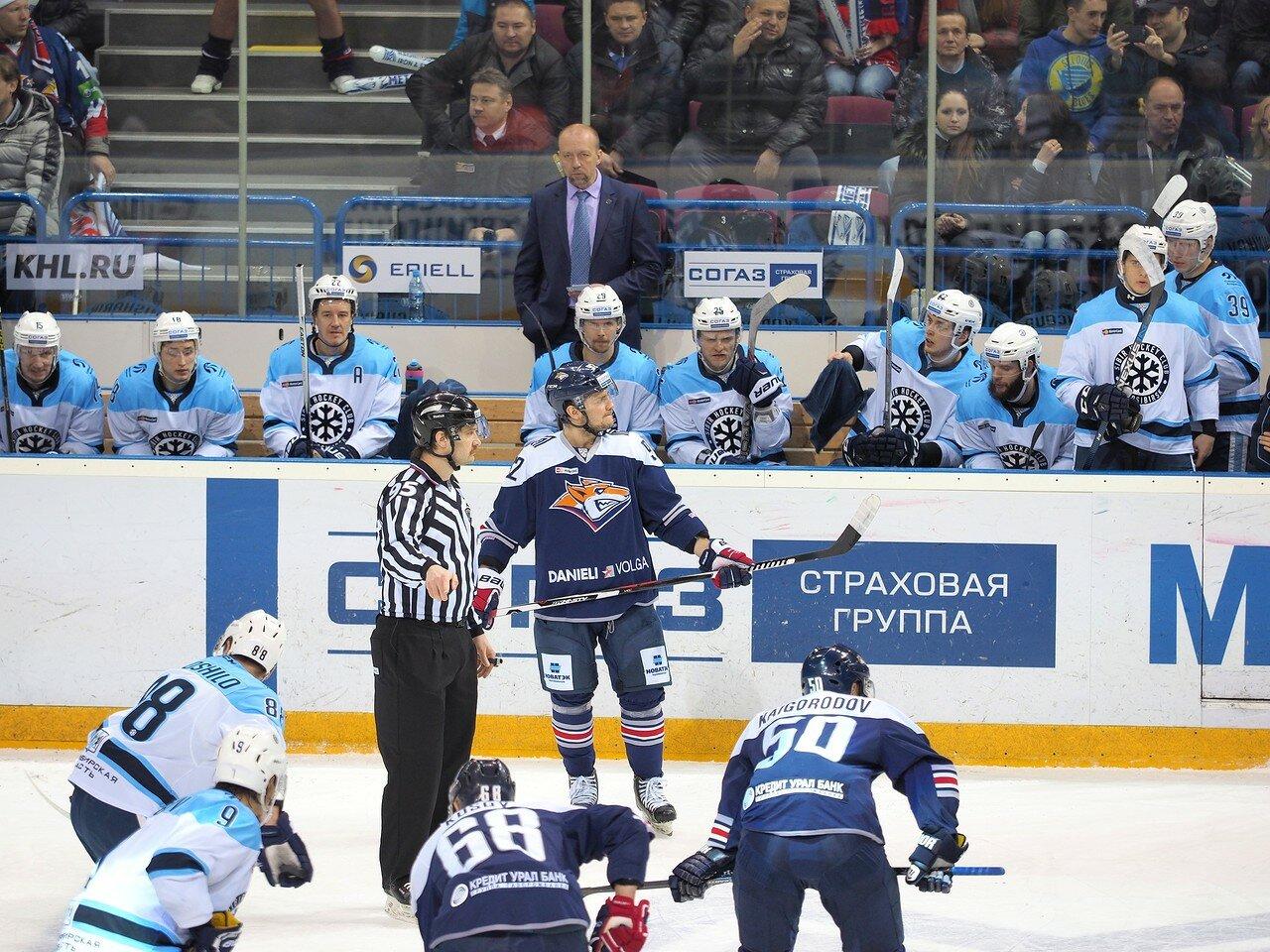 64Плей-офф 2016 Восток 1/2 Металлург - Сибирь 10.03.2016
