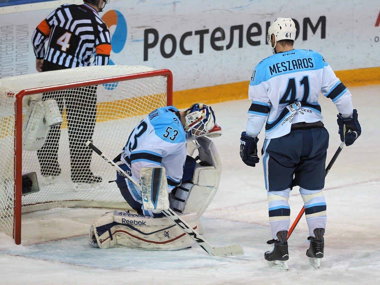 70Плей-офф 2016 Восток 1/2 Металлург - Сибирь 10.03.2016