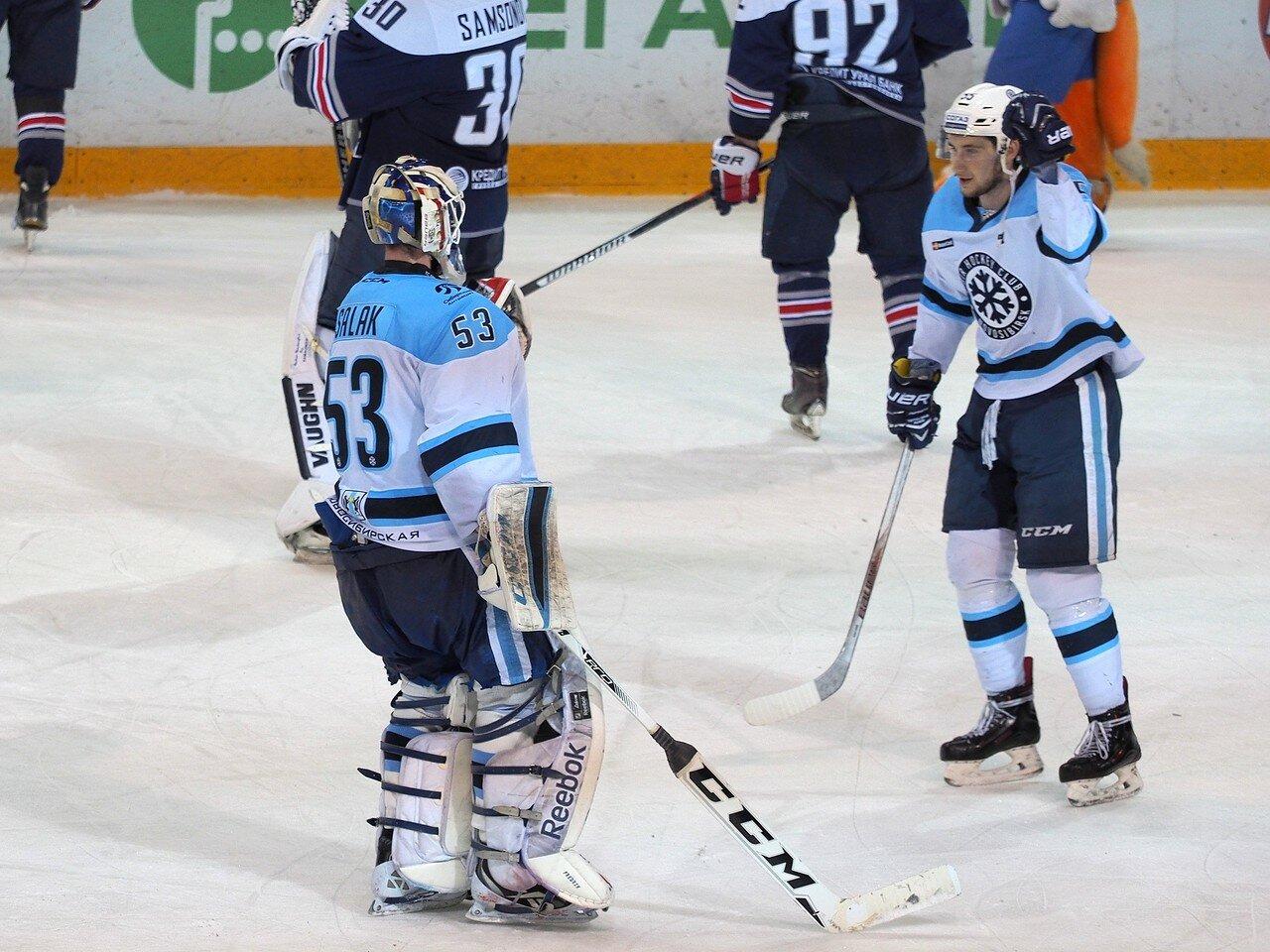 115Плей-офф 2016 Восток 1/2 Металлург - Сибирь 10.03.2016